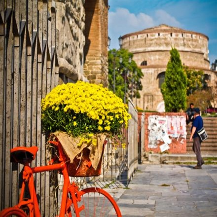 Walking in Thessaloniki tour